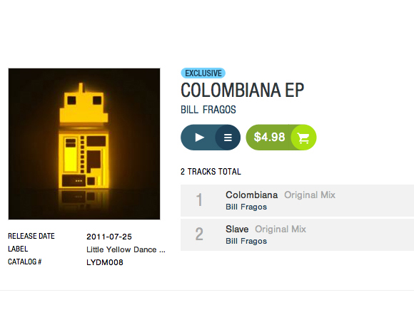 Colombiana EP by Bill Fragos