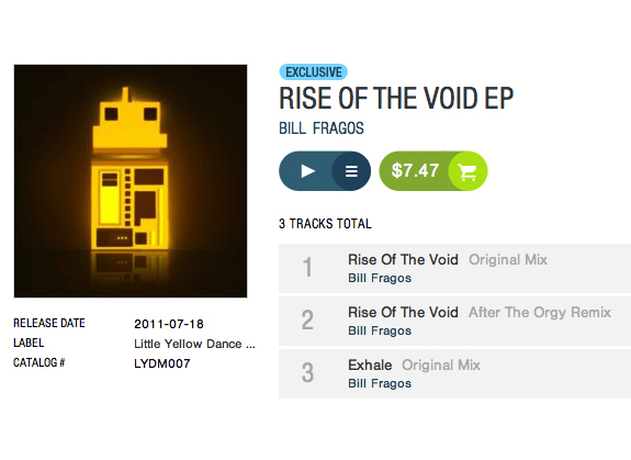 Rise of the Void EP by Bill Fragos
